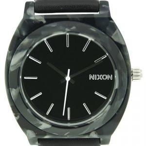 Nixon A328039-00 Kello Musta / Tekstiili