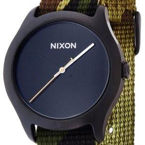 Nixon A3481629-00 Kello Musta / Teräs