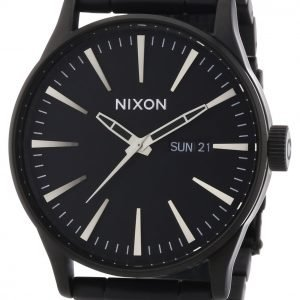 Nixon A356001-00 Kello Musta / Teräs