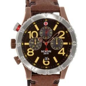 Nixon A3631625-00 Kello Musta / Nahka