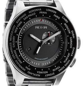 Nixon A379000-00 Kello Musta / Teräs