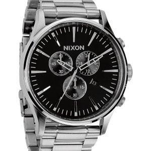 Nixon A386000-00 Kello Musta / Teräs