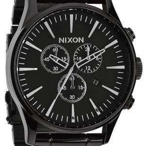 Nixon A386001-00 Kello Musta / Teräs