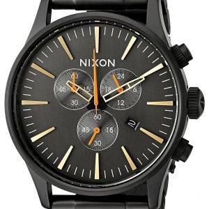Nixon A3861032-00 Kello Musta / Teräs