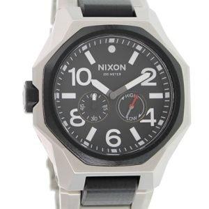 Nixon A397000-00 Kello Musta / Teräs