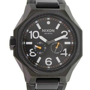 Nixon A397001-00 Kello Musta / Teräs