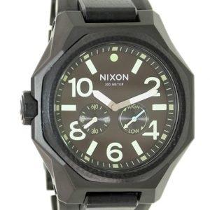 Nixon A3971042-00 Kello Musta / Teräs