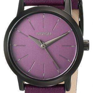 Nixon A3981812-00 Kello Violetti / Nahka