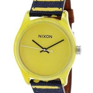 Nixon A402250-00 Kello Keltainen / Nahka