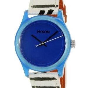 Nixon A402300-00 Kello Sininen / Nahka