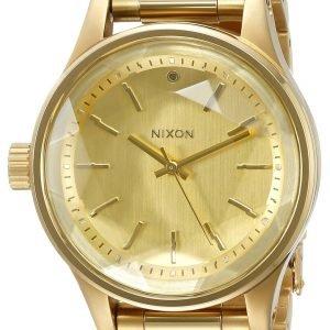 Nixon A409502-00 Kello Samppanja / Kullansävytetty