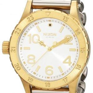 Nixon A4102281-00 Kello Hopea / Teräs