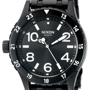Nixon A410756-00 Kello Musta / Teräs