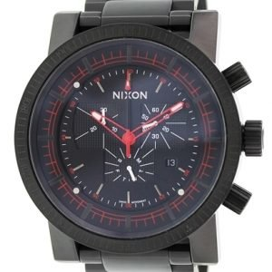 Nixon A457001-00 Kello Musta / Teräs