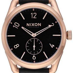Nixon A4591098-00 Kello Musta / Nahka