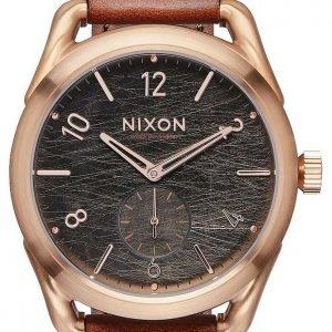 Nixon A4591890-00 Kello Musta / Nahka