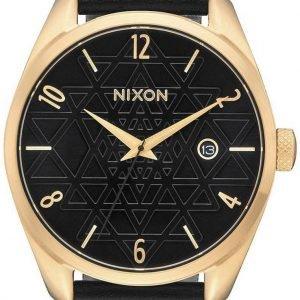 Nixon A4732478-00 Kello Musta / Nahka