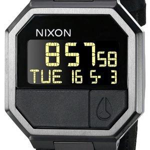 Nixon The Re-Run A944001-00 Kello Lcd / Nahka