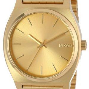 Nixon The Time Teller A045511-00 Kello Kullattu / Kullansävytetty Teräs