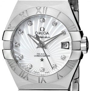 Omega Constellation Co-Axial 27mm 123.10.27.20.55.001 Kello
