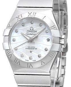 Omega Constellation Co-Axial 27mm 123.10.27.20.55.002 Kello