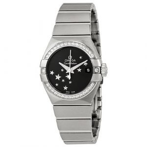 Omega Constellation Co-Axial 27mm 123.15.27.20.01.001 Kello