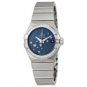 Omega Constellation Co-Axial 27mm 123.15.27.20.03.001 Kello