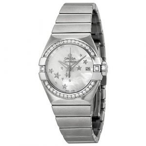 Omega Constellation Co-Axial 27mm 123.15.27.20.05.001 Kello