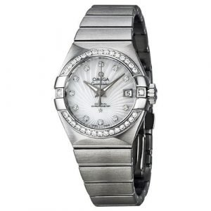 Omega Constellation Co-Axial 27mm 123.15.27.20.55.001 Kello