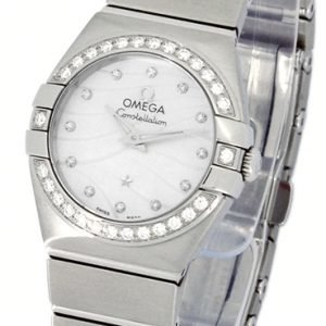 Omega Constellation Co-Axial 27mm 123.15.27.20.55.002 Kello