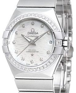 Omega Constellation Co-Axial 27mm 123.15.27.20.55.003 Kello