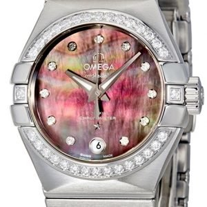 Omega Constellation Co-Axial 27mm 123.15.27.20.57.003 Kello