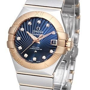 Omega Constellation Co-Axial 27mm 123.20.27.20.53.001 Kello