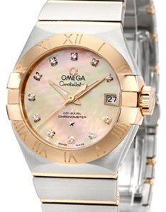 Omega Constellation Co-Axial 27mm 123.20.27.20.57.001 Kello