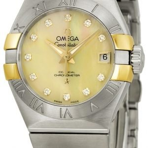 Omega Constellation Co-Axial 27mm 123.20.27.20.57.003 Kello