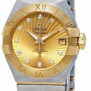 Omega Constellation Co-Axial 27mm 123.20.27.20.58.001 Kello