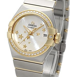 Omega Constellation Co-Axial 27mm 123.25.27.20.05.001 Kello