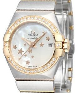 Omega Constellation Co-Axial 27mm 123.25.27.20.05.002 Kello