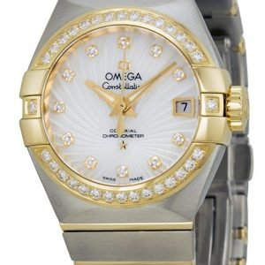 Omega Constellation Co-Axial 27mm 123.25.27.20.55.002 Kello