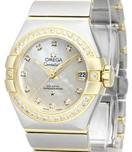 Omega Constellation Co-Axial 27mm 123.25.27.20.55.003 Kello