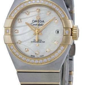 Omega Constellation Co-Axial 27mm 123.25.27.20.55.004 Kello