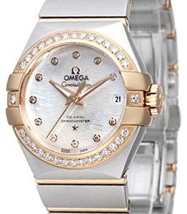 Omega Constellation Co-Axial 27mm 123.25.27.20.55.006 Kello