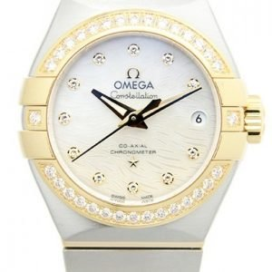 Omega Constellation Co-Axial 27mm 123.25.27.20.55.007 Kello