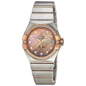 Omega Constellation Co-Axial 27mm 123.25.27.20.57.001 Kello