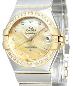 Omega Constellation Co-Axial 27mm 123.25.27.20.57.002 Kello