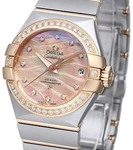 Omega Constellation Co-Axial 27mm 123.25.27.20.57.003 Kello