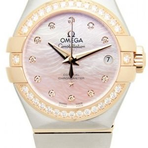 Omega Constellation Co-Axial 27mm 123.25.27.20.57.004 Kello
