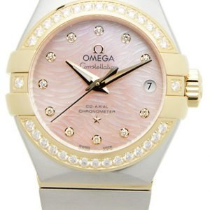 Omega Constellation Co-Axial 27mm 123.25.27.20.57.005 Kello