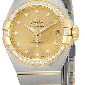 Omega Constellation Co-Axial 27mm 123.25.27.20.58.001 Kello
