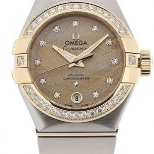 Omega Constellation Co-Axial 27mm 123.25.27.20.58.002 Kello